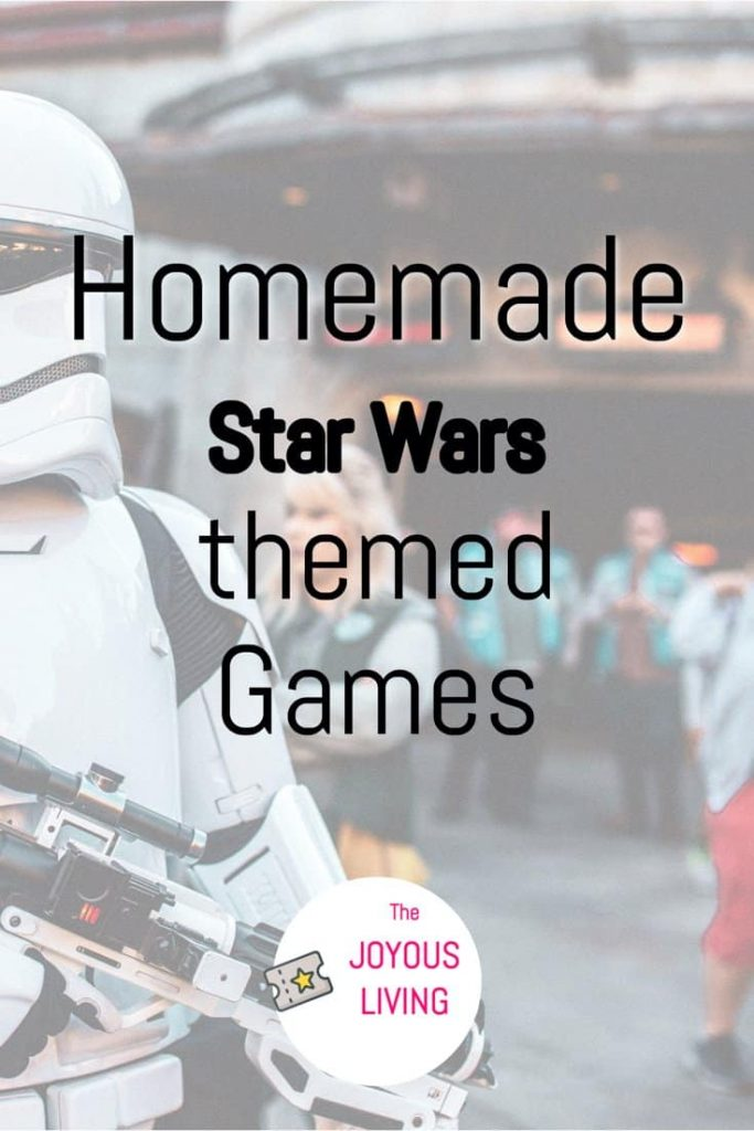 Star Wars Themed Games you can put together from home #starwars #games #stayathome #homemade #starwarsday #thejoyousliving