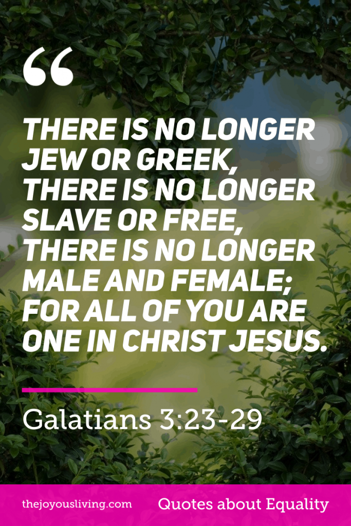 All are one in Christ Jesus #galatians #bible #verse #scripture #equality #blacklivesmatter #faith #georgefloyd #thejoyousliving