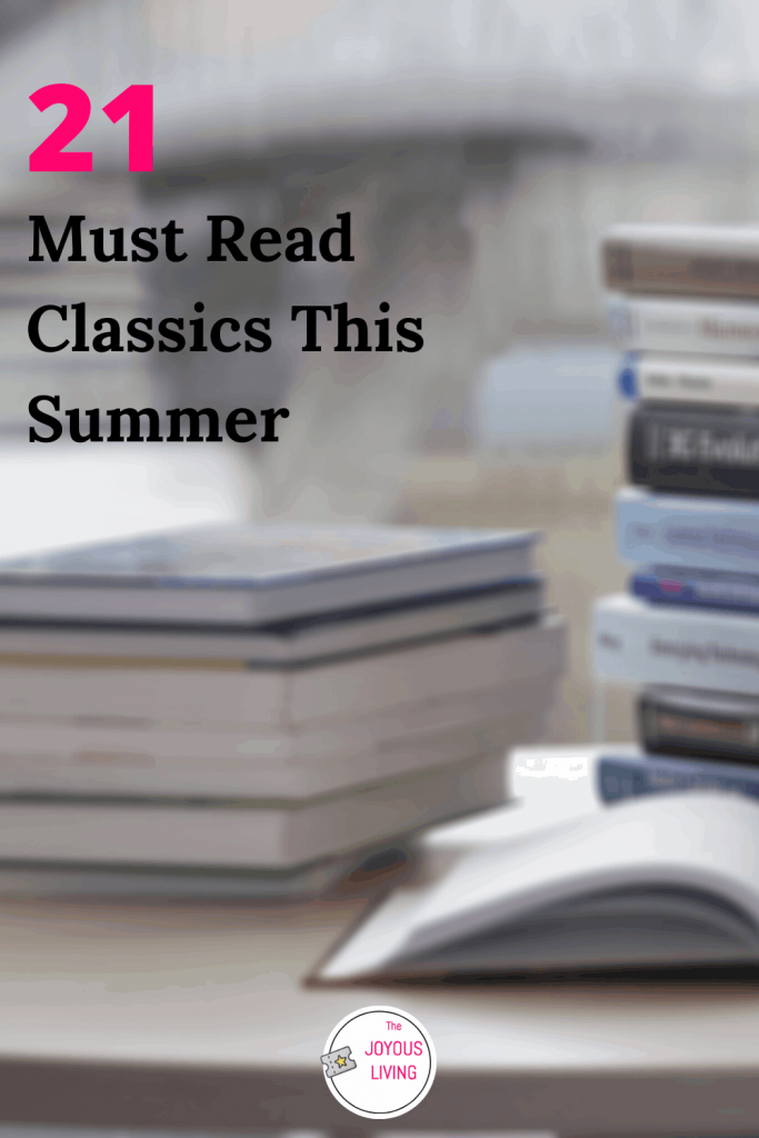 Need a book recommendation? #books #summer #reading #classics #literature #readinglist #thejoyousliving