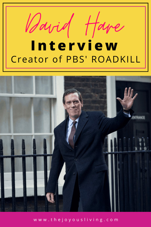 David Hare, writer of Skylight, shares about his new PBS Masterpiece drama ROADKILL. Roadkill writer David Hare shares about his new political drama starring House's Hugh Laurie. David Hare fights for the right to write fiction. #fiction #pbs #pbsmasterpiece #davidhare #hughlaurie