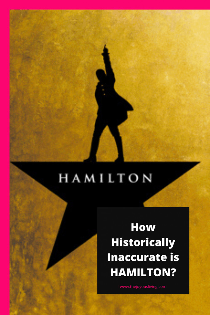 How historically inaccurate is HAMILTON?