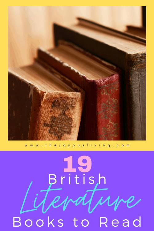 19 British Literature Books to Read