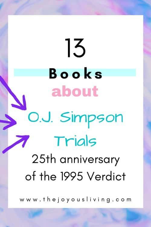 O.J. Simpson Trial Books to Read
