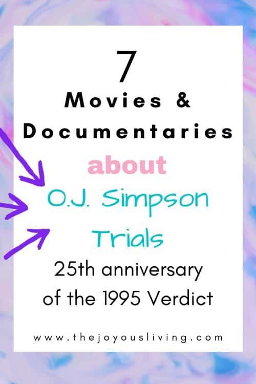 O.J. Simpson Trial movies