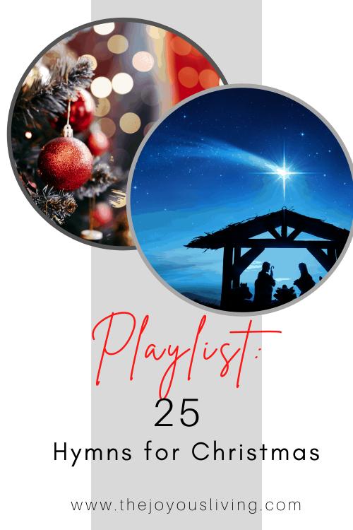 25 Christmas Hymns.