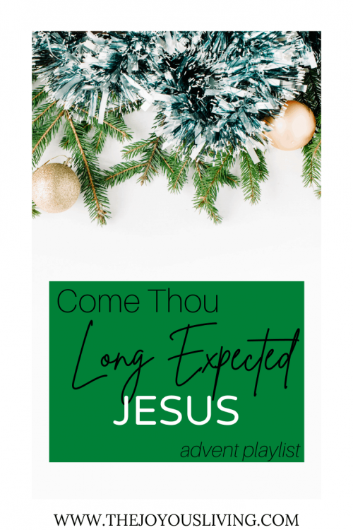 Come Thou Long Expected Jesus. Christmas Hymns.