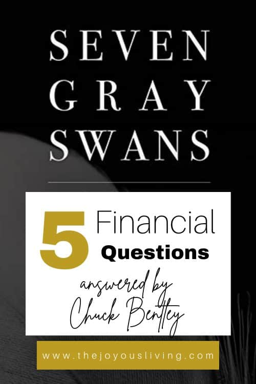 Interview with Chuck Bentley. Seven Gray Swans Book.