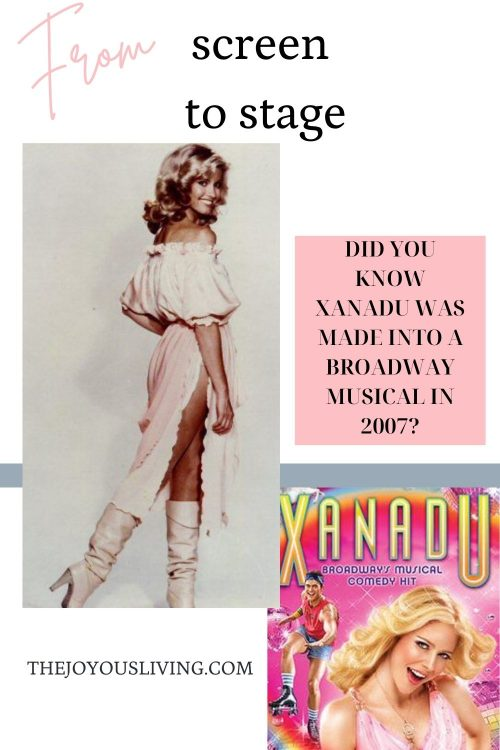 Xanadu From Screen to Stage