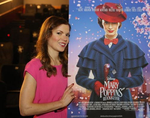 Lisa Antoni, Singing Voice for Mary Poppins Returns in German