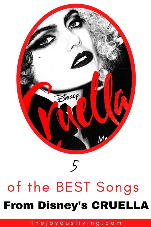 5 of the best songs from Disney's CRUELLA