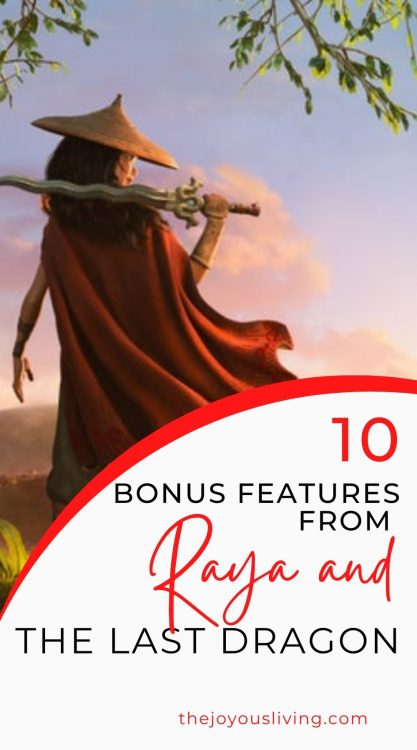 10 Bonus Features from Raya and the Last Dragon