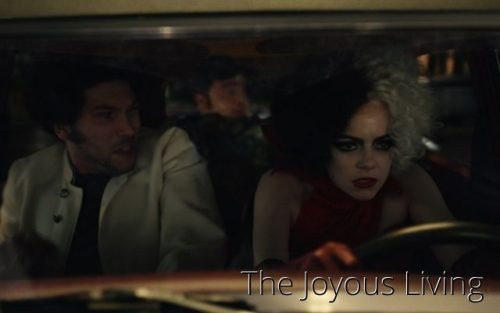 Disney's Cruella Movie Review by The Joyous Living
