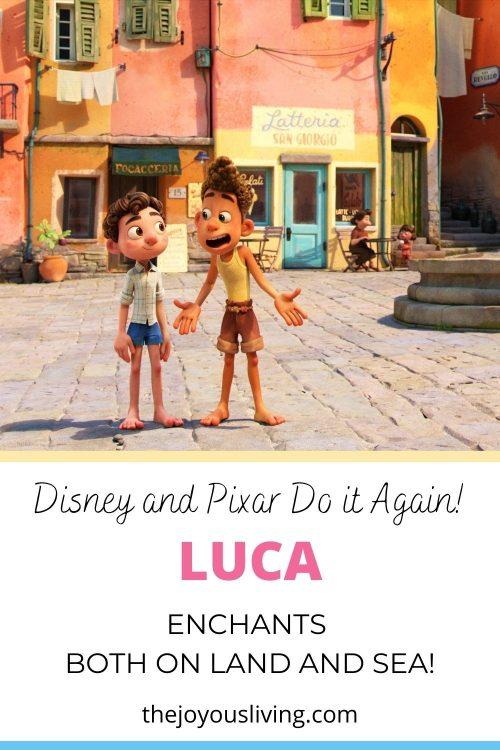 Disney's Luca Movie Review