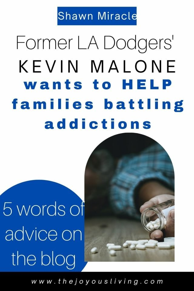 The Shawn Miracle's Kevin Malone wants to help families battling addictions