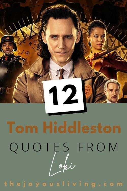 12 Tom Hiddleston quotes from Loki series premiere