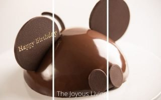 Mickey Mouse Celebration Cake Birthday at Walt Disney World