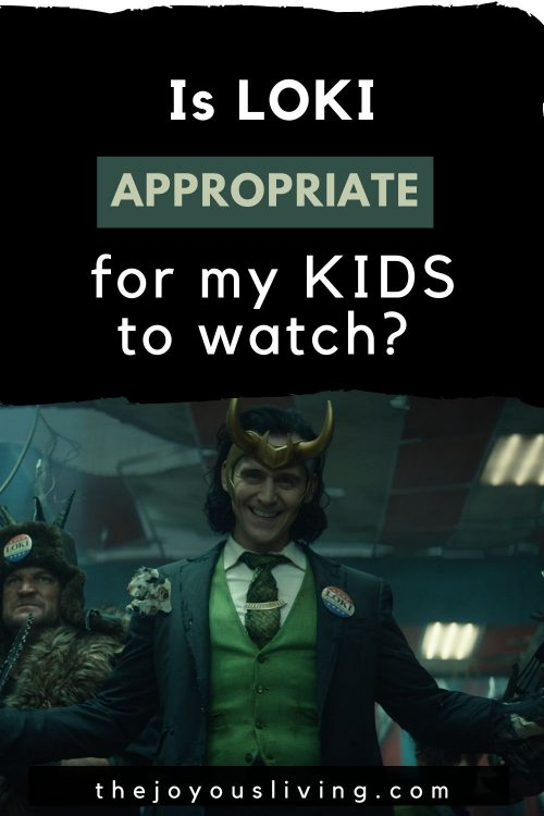 Loki series premiere parental guide