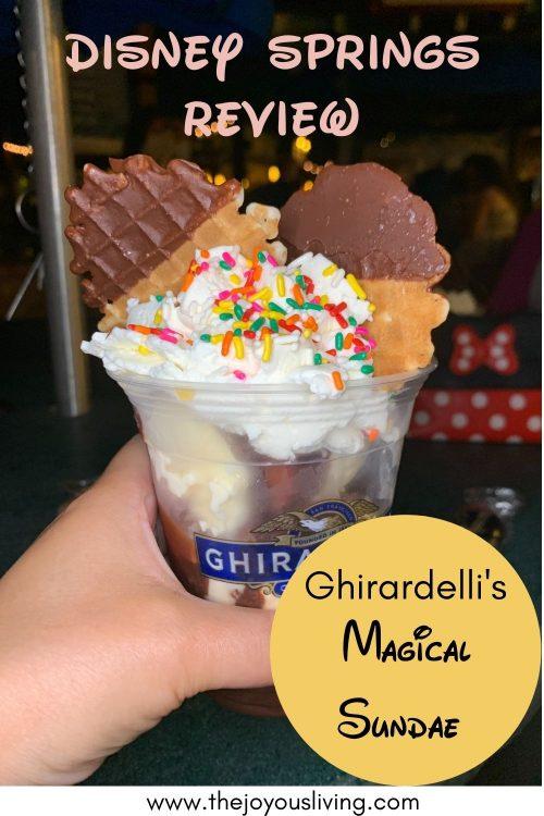 Ghirardelli's magical sundae review