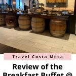 review of the breakfast buffet Crowne Plaza Costa Mesa