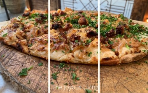 ARC Restaurants Food and Libations Tart Flambee Pizza