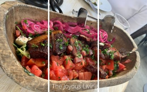 Arc Restaurants Food and Libations Wedge Salad