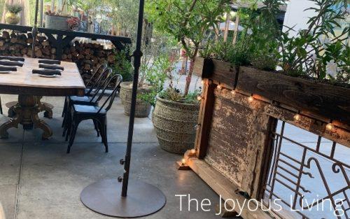 arc restaurants food and libations patio