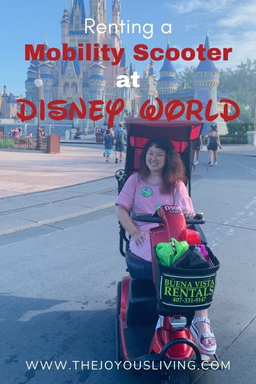 renting a mobility scooter at disney world