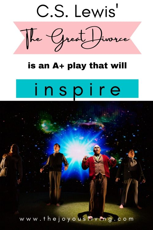 C.S. Lewis The Great Divorce is an A+ play that will inspire
