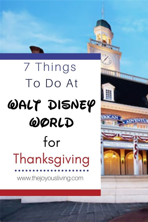 What to do at Walt Disney World for Thanksgiving